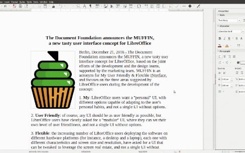 LibreOffice va proposer une interface plus souple