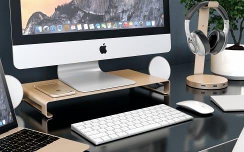 Satechi : des socles aux couleurs du MacBook