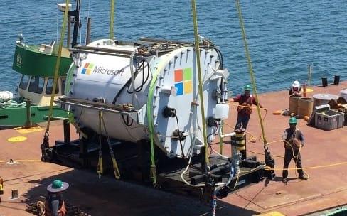 Microsoft teste un nuage sous les eaux