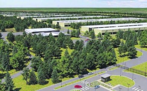 Le premier data center d'Apple en Europe prend du retard