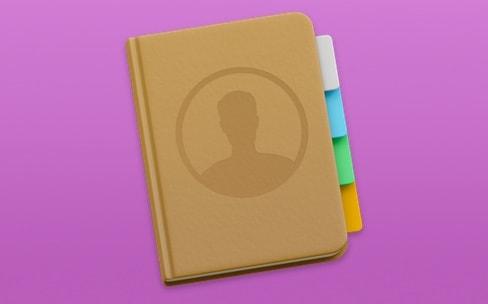 Comment créer un groupe ou un contact en local quand iCloud est imposé
