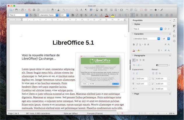 Libreoffice 5 1 ouvre les fichiers dans le nuage macgeneration - Libre office pour windows ...