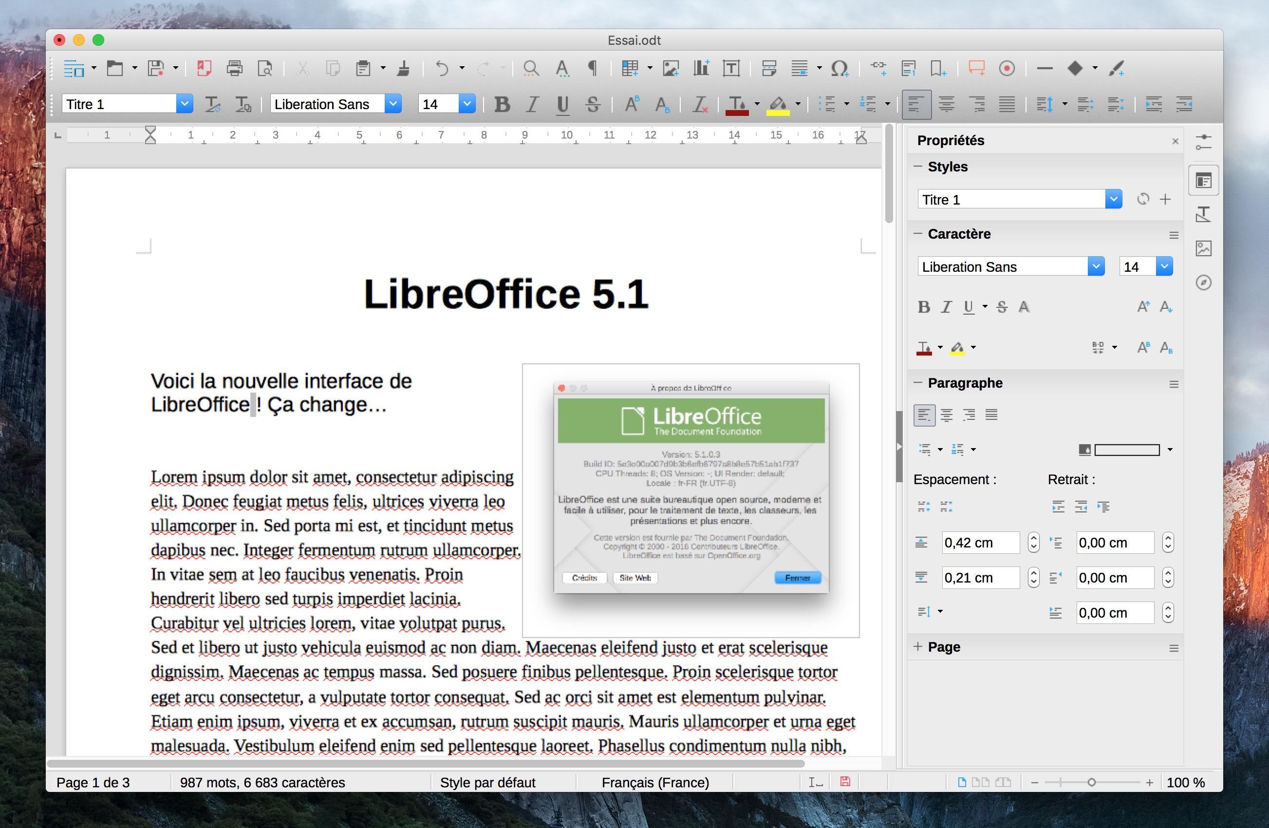 Carte de visite libreoffice - Office traitement de texte ...