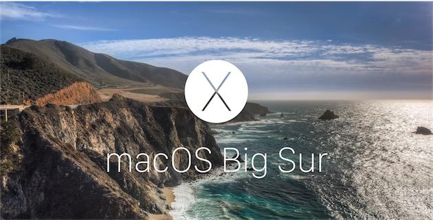 Le futur OS X pourrait-il se nommer macOS Big Sur ?
