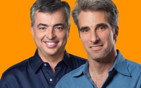 Craig Federighi et Eddy Cue en mission pour défendre la qualité Apple