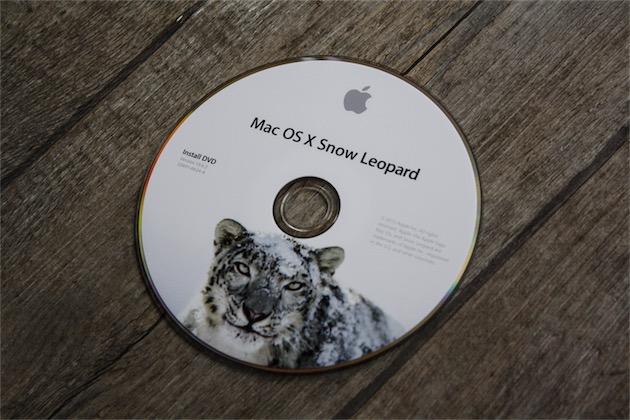 Mac OS X Snow Leopard, que l'on ne téléchargeait pas à l'époque… (photo MacGeneration)
