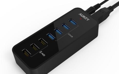 Promo : un hub USB 3.0 qui recharge aussi rapidement pour 20€