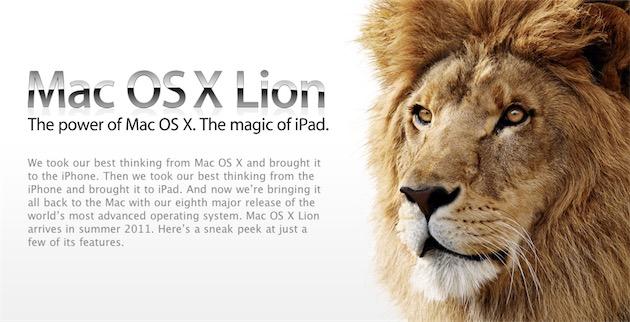 Apple présentait Lion comme l'alliance parfaite du Mac et de l'iPad. Rétrospectivement, ce n'était probablement pas une si bonne idée…