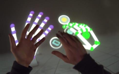 Orion : le contrôle de la réalité virtuelle avec les mains
