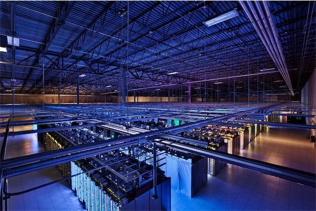 L'un des data-centers de Google