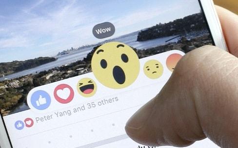 Facebook explique la création de ses 5 nouvelles Réactions