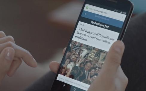 Google commence à accélérer le web mobile