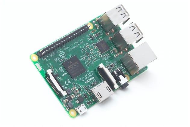 Le Raspberry Pi 3.