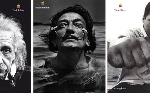 Apple veut toujours penser différemment
