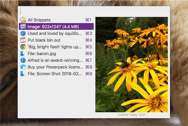 Parmi les nouveautés de la troisième version, le gestionnaire de presse-papier intégré gère les images.