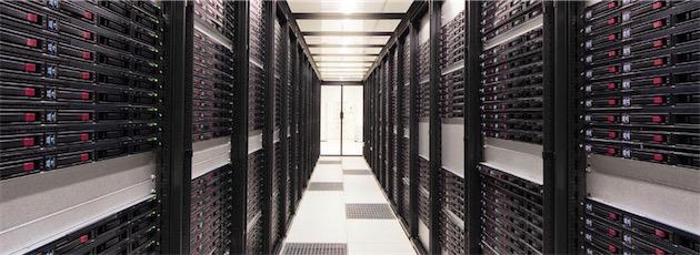 L'un des data-centers d'Online