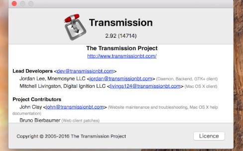 Transmission : 6500 téléchargements du malware KeRanger