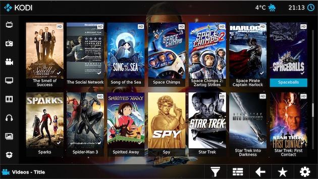 La future interface pour les films, mais cette fois sur un écran tactile. — Cliquer pour agrandir