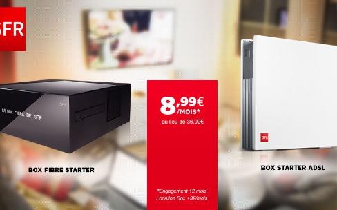 Promo : un an d'ADSL ou de fibre SFR à 12€ par mois