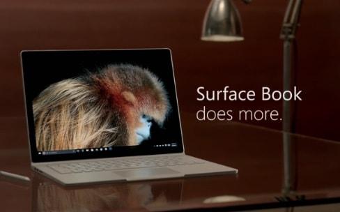Le Surface Book en fait plus que le Mac, selon une pub Microsoft
