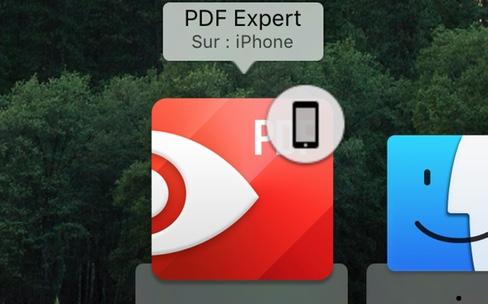PDF Expert transmet ses fichiers entre iOS et OSX