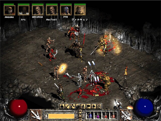 Diablo II, un classique qui conserve des fans, 16 ans après sa sortie.