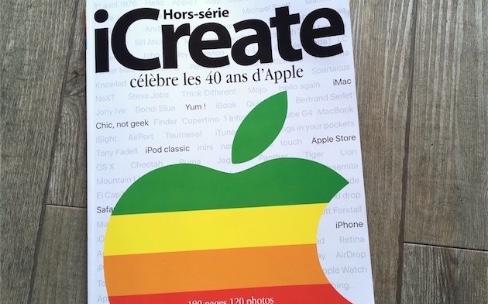 Les 40 ans d'Apple dans un gros hors-série iCreate