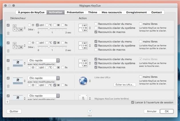 Keycue 8 0 affiche les raccourcis clavier sa guise for Raccourci pour fermer une fenetre