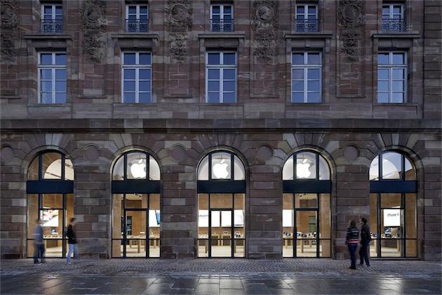 Apple Store de Strasbourg (image Apple)