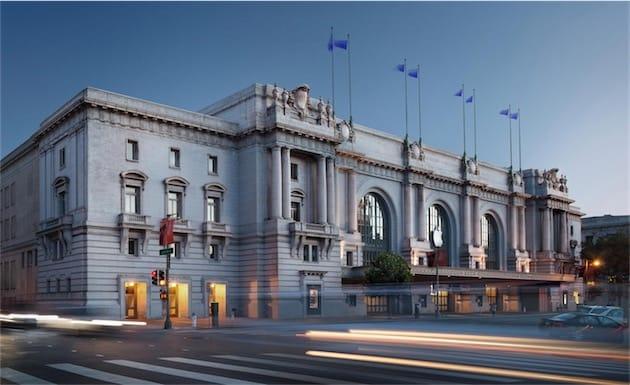 Le Bill Graham Civic Auditorium n'est pas très loin du Moscone Center