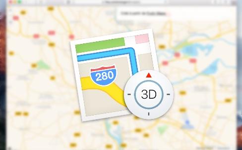 Fruity Maps: les cartes d'Apple dans le navigateur