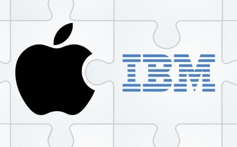 Apple est bonne cliente en solutionsIBM
