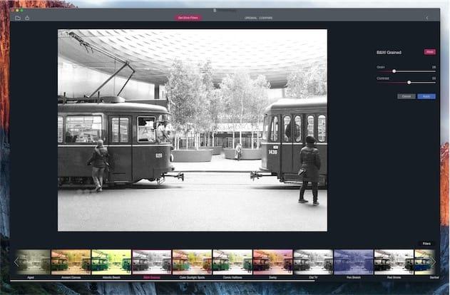 L'application peut être utilisée indépendamment de Photos.