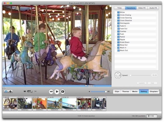 how to cut on imovie