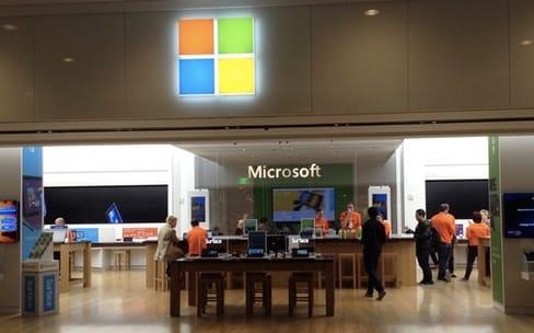 Microsoft voudrait attirer plus de monde dans ses boutiques
