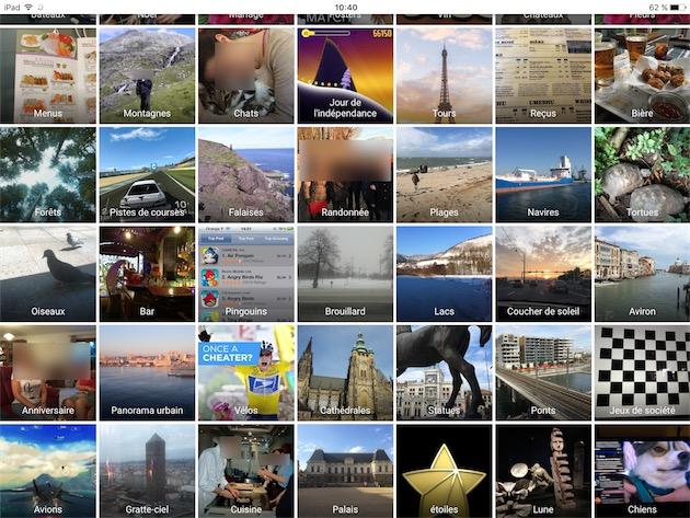 L'intelligence artificielle de Google Photos reconnaît ce qu'il y a dans les photos. Et ça marche étonnamment bien. — Cliquer pour agrandir