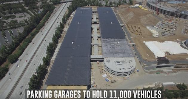 11 000 places de parking dans le futur Campus 2 : espérons pour Apple que le modèle « car as a service » ne décolle pas trop vite…