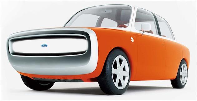 La Ford 021C, un concept-car dessiné à la fin des années 1990 par Marc Newson. Ce dernier est aujourdhui employé par Apple… et l'entreprise travaillerait sur une voiture.