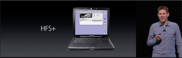 HFS+ est apparu en 1998 avec Mac OS 8.1