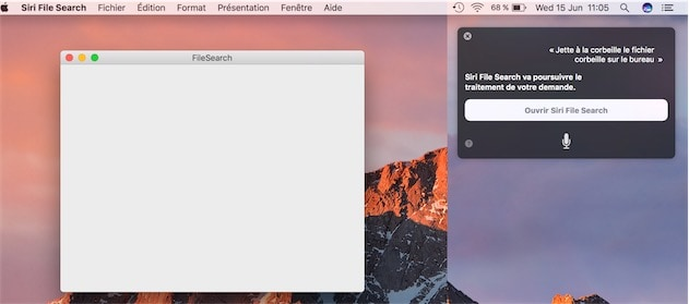 Parfois, Siri a besoin de cette nouvelle application…mais manifestement, tout n'est pas encore au point. — Cliquer pour agrandir