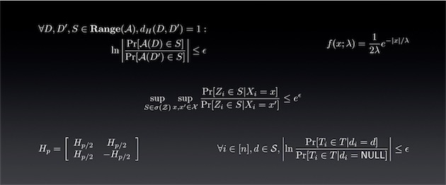 Quelques formules derrière la privacité différentielle. Rassurez-vous, nous ne ferons pas de mathématiques dans les lignes qui suivent. Image Apple.