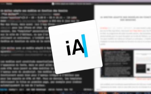 iA Writer adapte ses modèles en fonction des besoins