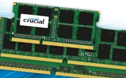 Promo : 7% de remise sur les mémoires Crucial pour Mac
