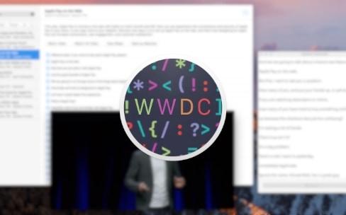 WWDC 2016 : ASCIIwwdc a commencé à transcrire les sessions