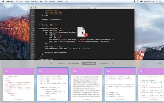 Paste pour un développeur. — Cliquer pour agrandir