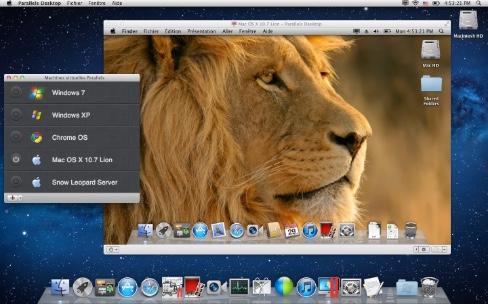 Installer macOS Sierra dans une machine virtuelle avec Parallels Desktop