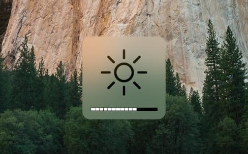 Ajuster la luminosité à la main peut fluidifier un MacBookPro Retina