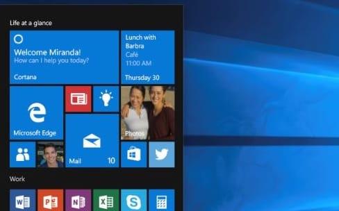Windows 10 monte au nez de la Cnil