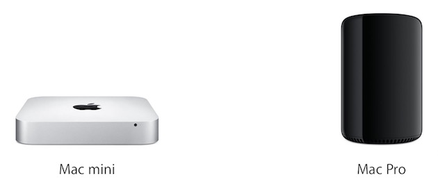 Vous êtes plutôt Mac mini ou MacPro?