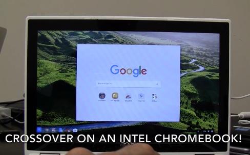 On pourra installer des apps Windows sur un Chromebook grâce à Android